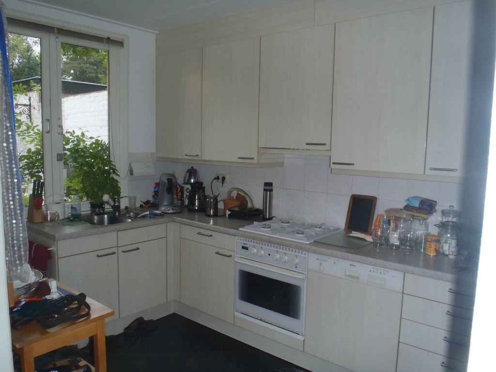 Keuken overschilderen Geluk Huisschilder Nunspeet